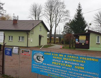 Informacja dla osób posiadających domki na przystani Zegrze-Rybaki i SUM